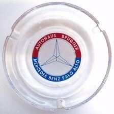 Vintage Advertising Mercedes Benz Ashtray - Autohaus Brugger, Palo Alto, CA