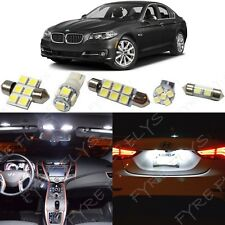 White Interior LED Light Package 2011-2015 BMW 5 Series M5 535i 550i F10 +Tool