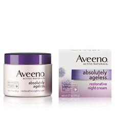 Aveeno Absolutely Ageless Restorative Facial Anti-Aging Night Cream, 1.7 Oz