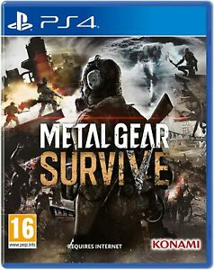 Metal Gear Survive PS4 New Sealed