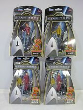 STAR TREK (2009) Movie Job Lot of 4 Action Figures Galaxy Collection Playmates