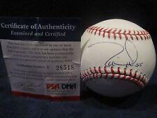Tim Lincecum Autographed Official Major League (Selig) Baseball - PSA Cert