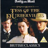 Tess of the D'Urbervilles (1998) -  Justine Waddell, Jason Flemyn -  DVD N/Paper