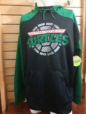 Teenage mutant ninja turtles Men's Sweater  Black  & Green  Size L  NWT