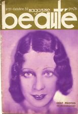 Beauté Magazine n°22 - 1932 - Jane Moore - Mannequins - Photo Héliogravure