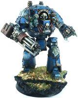 Warhammer 40k / 30k Horus Heresy Night Lords Contemptor Dreadnought
