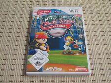 Little League World Series Baseball para Nintendo Wii y Wii U * embalaje original *