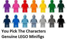 LEGO MONOCHROME MINIFIG (You Select Character) minifigure genuine