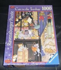 LINDA JANE SMITH 1000 PIECE JIGSAW PUZZLE,CRAZY CATS IN THE TOYSHOP