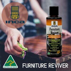 Inca Furniture Reviver & Furniture Restoration Oil Furniture Polish 250ml 2 in 1