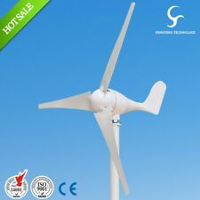 Hybrid Wind Turbine S2 3 Blades 100W ~ 400W with a Waterproof Controller 12V 24V
