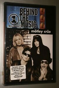 new sealed Motley Crue VH1 Behind the Music 2001 heavy metal