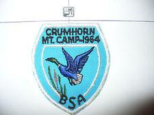 1964 Camp Crumhorn Mountain, Otschodela Council,402 Onteroraus,34,pp,New York,NY