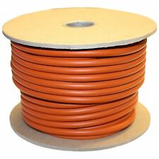 "Silicone O-Ring Cord, 70A Durometer, Round, Red  1/8"" thick - 25 feet"