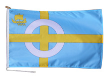 More details for isle of skye flag with rope and toggle - various sizes