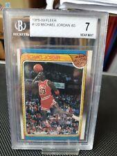 1988-89 FLEER #120 MICHAEL JORDAN BGS 7