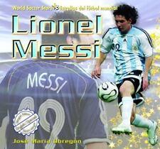 Lionel Messi (World Soccer Stars / Estrellas Del Futbol Mundial)-ExLibrary