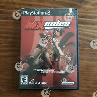 MX RIDER (  Playstation 2 PS2 )  Tested and Working