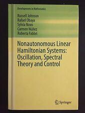 Nonautonomous Linear Hamiltonian Systems: Oscillation, Spectral Theory & Control
