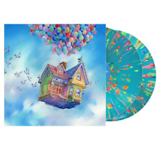 Michael Giacchino Disney UP Movie Soundtrack OST Mondo Splatter Color Vinyl 2LP