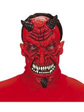 Latexmaske Crazy Devil Halloween Fasching Horrormaske