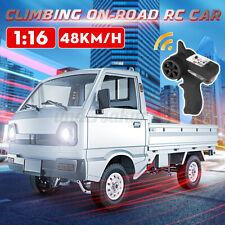 Für WPL D12 RC Truck 1:16 LED Climbing Lastwagen On-Road Car RC Auto Spielzeug #