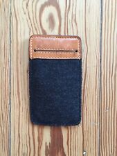 Kancha iphone 4 Hülle case bag  Leder / Filz   leather /  felt