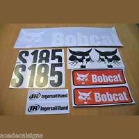 S185 Decals S185 Stickers Bobcat Skid Steer loader DECAL SET Kit