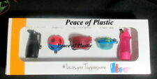 Tupperware New~Collectible Miniature Rare Keychains Box Set of 5