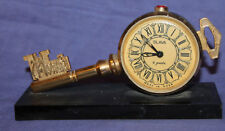 Vintage Soviet Russian Slava 11 jewels clock key shape