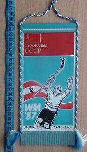 Beautiful pennant Hockey, hockey Federation of the Soviet Union, World Cup 1987