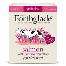 Forthglade Adult Dog Food Salmon with Potato Vegetables Complete Meal  1 x 395g