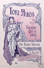 Tori Amos Devlins 1998 Concert Poster David Dean