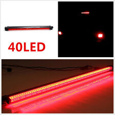 Red 40 LED Autos Rear Windscreen High Level Brake Light Tail Stop Lamp For Skoda