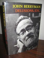 1st Edition DELUSIONS, ETC. John Berryman POEMS First Printing Poetry CLASSIC