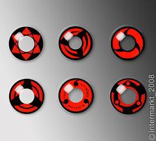 Crazy & Fun FARBIGE Kontaktlinsen - Smiley 60 Ml mit Behälter