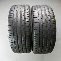 2x Pirelli P Zero AO 245/45 R18 100Y DOT 3916 5 mm Sommerreifen