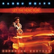 BARRY WHITE - LET THE MUSIC PLAY  CD POP-ROCK ITALIANA