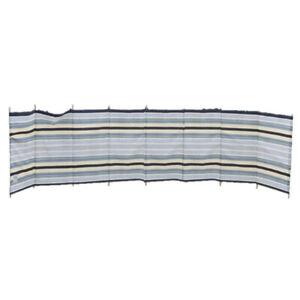 9 Pole Deluxe Windbreak in Two Tone Grey Colour
