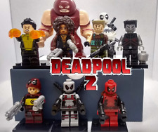 Custom Deadpool 2 Lot Deadpool Cable White Deadpool with Motorcycle Colossus