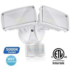 1600lm LED Outdoor Motion Sensor Security Light with Adjustable Head for