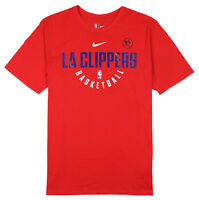 NIKE Los Angeles Clippers Player Practice T-Shirt X-Large Red Basketball NBA