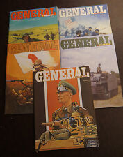 Avalon Hill General Magazine - lot of 5 - Vol 22: 1 2 3 4 5   FREE SHIPPING
