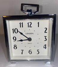 """Vintage  -London -4.5""""Alarm Clock -Beautiful Piece."""