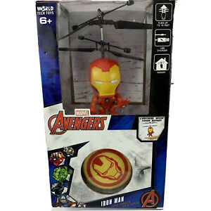 Marvel Avengers Iron Man Flying Figure Remote Controlled Helicopter
