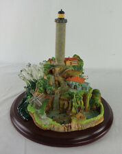 LENOX Lighthouse Light At Paradise Cove 2002 Limited Edition Scott Spicer
