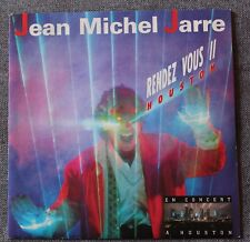 Jean Michel Jarre, rendez vous II / Ron's piece -  Houston, SP - 45 tours