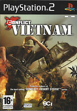 CONFLICT VIETNAM for Playstation 2 PS2 - PAL
