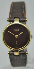 Cartier – Must de Gold Plated on Sterling Silver Quartz Ladies watch