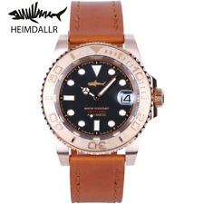 HEIMDALLR Men's Dive Bronze Watch Sapphire 40mm Sapphire 30Bar NH35A Automatic